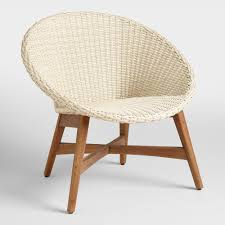 round all weather wicker vernazza chairs set of 2 home goods