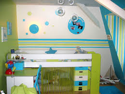 peinture chambre gar輟n 5 ans cuisine decoration decoration chambre petit garcon deco chambre