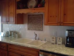 Installing Subway Tile Backsplash In Kitchen A Recent Hatloe U0027s Installation Beautiful Cambria Quartz