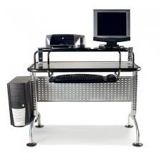 Unique Desk Unique Modern Desks For Small Spaces Having Free Form Glass Top