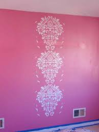 wall flower stencils images home wall decoration ideas