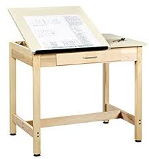 Drafting Table Wood Diversified Woodcrafts Dt 1sa30 Uv Finish Solid Maple Wood Art