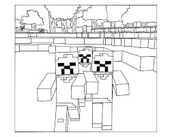 pour imprimer ce coloriage gratuit coloriage minecraft 6