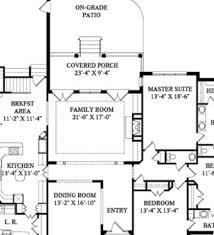 modern house single floor plans modern single story house one