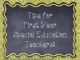 a special sparkle tips for new special education teachers