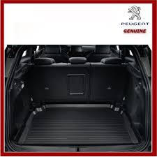 peugeot 3008 2017 genuine peugeot 3008 suv 2017 on boot liner protection tray