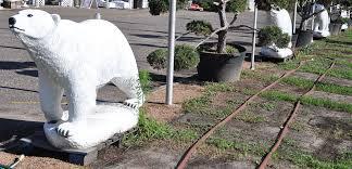polar statues roadsidearchitecture