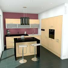 cuisine couleur bois couleur mur cuisine avec meuble bois inspirant cuisine avec ilot
