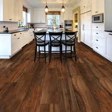 Trafficmaster Laminate Flooring Trafficmaster Allure Ultra Wide 8 7 In X 47 6 In Red Hickory