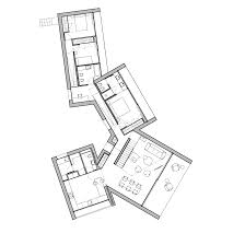 Spanish Floor Plans Four Angular White Volumes Form House In Mallorca By Ohlab