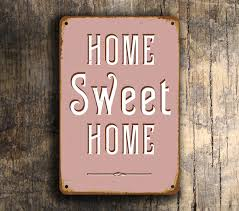 Vintage Look Home Decor by Home Sweet Home Sign Vintage Style Home Sweet Home Sign Home