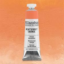 handmade oil paint montserrat orange by williamsburg cheap