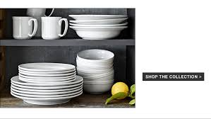 dinnerware collections landing page williams sonoma