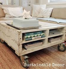 furniture handmade tea stain diy coffee table and few casters on