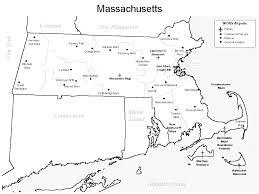 Massachusetts Map Massachusetts Airports Map Massachusetts U2022 Mappery