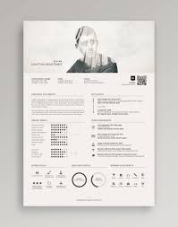White Font Resume Make An Enduring First Impression On Hirers With A Bold And