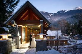 winter wedding venues whistler bc canada weddings tourism whistler