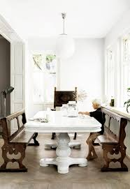 chic dining benches u0026 why you need one thou swell