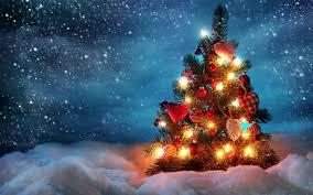 christmas tree desktop christmas lights decoration