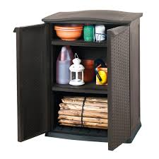 Keter Clamps Vidaxl Co Uk Keter Mini Patio Shed Rattan Anthracite 17190095