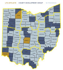 County Maps Of Ohio by Lpo County Organizations Libertarian Party Of Ohio