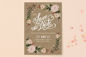Rustic Save The Date Cottage Florals Save The Date Cards By Kristen Smith Minted