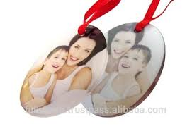 sublimation blank ornament blank acrylic ornament for