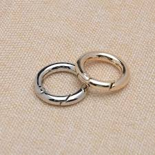 round metal rings images 3 4 inch light gold round spring clasp 20mm inner diameter spring jpg