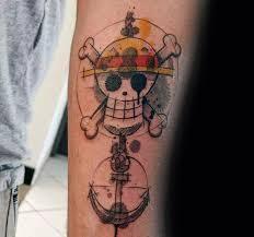 one piece compass tattoo nice anchor one piece tattoo golfian com