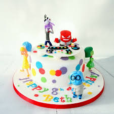 inside out cakes inside out themed cake