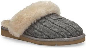 ugg sheepskin slippers sale ugg cozy knit sheepskin slippers grey womens ugg slippers