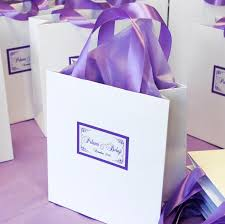 personalized wedding welcome bags wedding welcome bags candy gift bags with satin ribbon and
