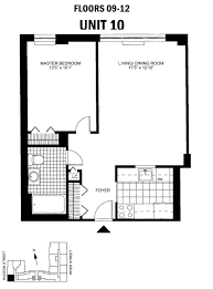 floor plans of hudson square north apartments in hoboken nj