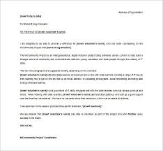 reference letter for a student volunteer professional resumes