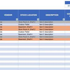 inventory management excel template free download and store