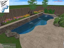 Backyard Landscaping With Pool by Best 25 Small Backyard Pools Ideas On Pinterest Small Pools