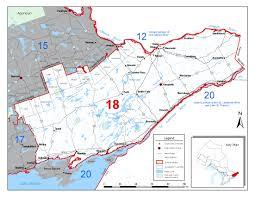 Wmu Map Fisheries Management Zone 18 Fmz 18 Ontario Ca