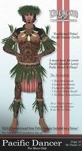 second life marketplace tiki tattoo clothing pacific hawaiian