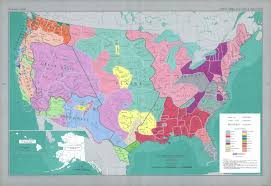 A Map Of The Usa That Supposed Map Of Pre Contact North America