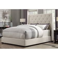 pri contemp shelter queen upholstered bed in cream ds 1927 251