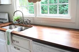 white cabinets with butcher block countertops dark butcher block countertops mynow info