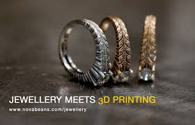3d printed gold jewellery novabeans brings 3d printed jewelry services to india 3dprinter in