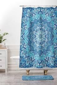 blue shower sets deny designs