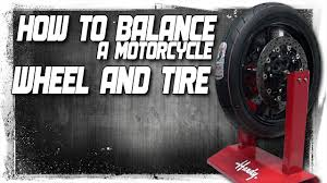 how to balance a motorcycle tire and wheel from sportbiketrackgear