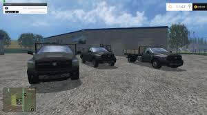 dodge ram car pack fs 15 farming simulator 2017 2015 15 17
