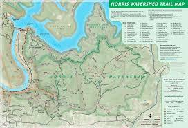 Cumberland Lake Map Watershed Trail Map