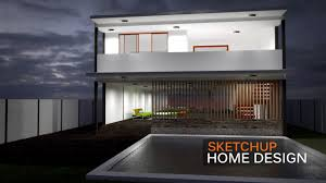 the new home design exterior render sketchup home design