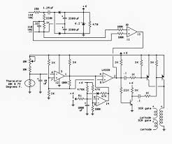thermostat circuit for 1kw space heater using scrs making easy