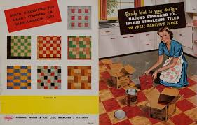 1950s Home Advertising Linoleum Tiles 1950s U2013 Home Décor And Furnishings