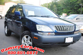 lexus used car for sale in nj used 2001 lexus rx 300 for sale west milford nj